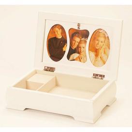 image-Memory Musical Wedding Jewellery Box Lily Manor