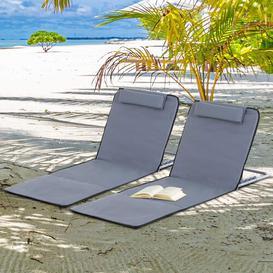 image-Piscium Folding Beach Chair Dakota Fields