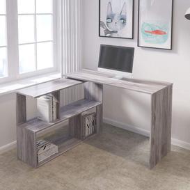 image-L-Shape Computer Desk