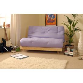 image-Kaitlynn 1 Seater Futon Chair Zipcode Design Upholstery Colour: Lilac, Size: Small Single (2'6)