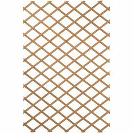 image-Grenier Wood Lattice Panel Trellis Sol 72 Outdoor