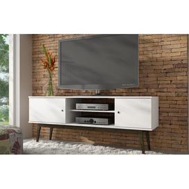 image-Savannah White TV Unit - 150cm