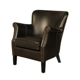 image-Carnlough Armchair Three Posts Colour: Chocolate