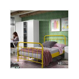 image-New York Small Double Kids Bed in Yellow