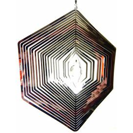 image-Marks Hexagon Wind Spinner Happy Larry