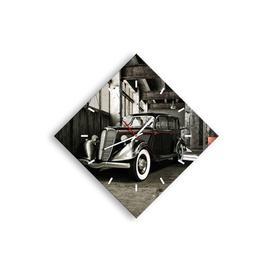 image-Silent Wall Clock EUArttor Size: 57cm H x 57cm W x 0.4cm D