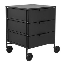image-Kartell - Mobil Mat 3 Drawer Wheels - Black