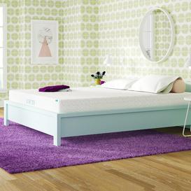 image-Sleep Gel Memory Foam Mattress Blue Elephant Mattress Size: European Double (140 x 200cm)