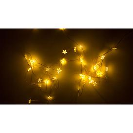 image-Sirius Trille Star 40 String Lights Copper Wire