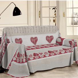 image-Manzanita Bedspread Brambly Cottage Size: 290cm W x 250cm L, Colour: Red