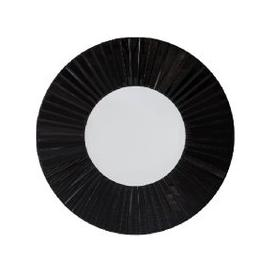 image-Nova Round Wall Mirror in Black