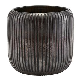 image-House Doctor - Utla Planter - Brown/Black