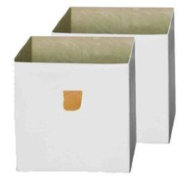 image-Acuna Storage Box Mercury Row Colour: White
