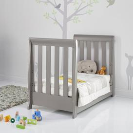 image-Stamford Mini 2-Piece Nursery Furniture Set Obaby Colour: Taupe Grey