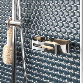 image-Shaunna Metal Wall Mounted Shower Caddy Belfry Bathroom