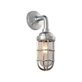 image-Sam Antique Silver Wall Lamp