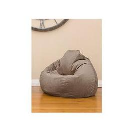 image-Rucomfy Slouchbag Velvet Bean Bag