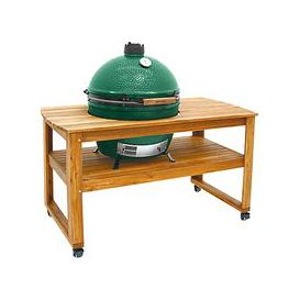 image-Big Green Egg Extra Large BBQ and Wood Table Bundle