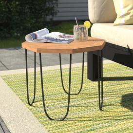 image-Solis Wooden Side Table Dakota Fields Size: H36 x W45 x L45cm