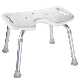 image-RIDDER Bathroom Stool White 110 Kg A0050501