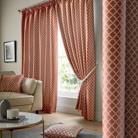 image-Judith Pencil Pleat Room Darkening Curtains Zipcode Design Colour: Teal, Size: 167 W x 182 D cm