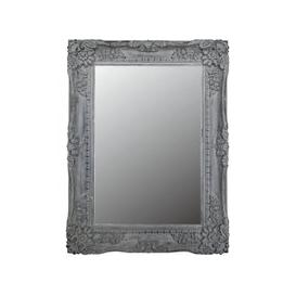 image-Cheste Grey Rectangular Wall Mirror - 88.5cm x 119cm