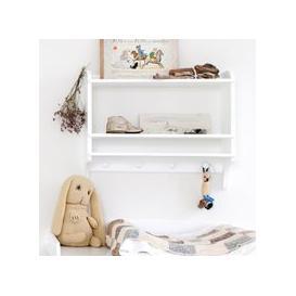 image-Oliver Furniture Children's Wall Mounted Bookshelf & Storage Unit