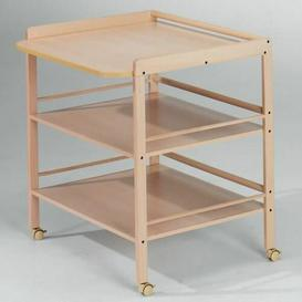 image-Pacheco Changing Table Symple Stuff Colour: Brown