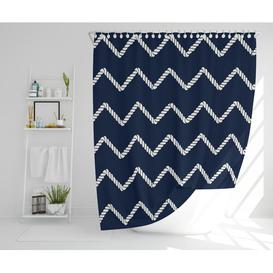 image-Matteo Polyester Shower Curtain Set Longshore Tides Size: 177cm H x 210cm W