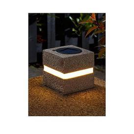 image-Smart Solar 2 Pack Cube Lights - 3 Lumen