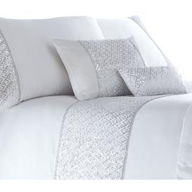 image-Devin Boudoir Cushion with Filling Rosdorf Park Colour: White, Size: 32 x 50cm