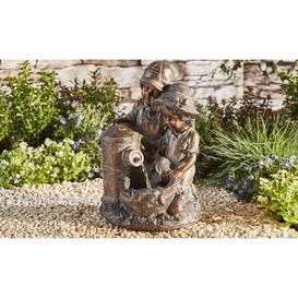 image-Titon Polystone Fountain Sol 72 Outdoor