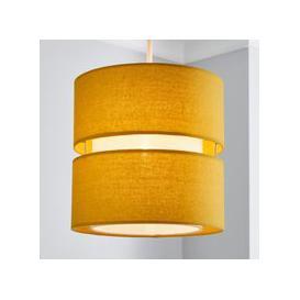 image-Frea 22cm Cylinder Shade Yellow