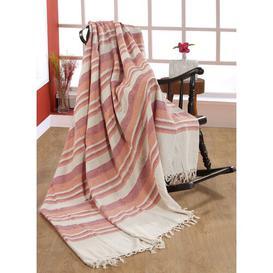 image-Dardel Blanket Beachcrest Home Size: 250cm x 250cm, Colour: Coral