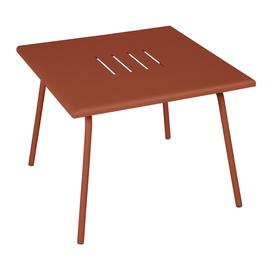 image-Fermob - Monceau Lounge Garden Coffee Table - Red Ochre