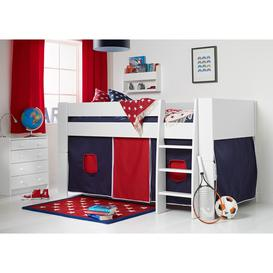 image-Bloc Midsleeper with Navy & Red Tent