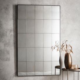 image-Large Antiqued Mirror