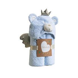 image-Clair De Lune Little Bear Hooded Blanket - Blue
