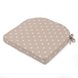 image-Taupe Dotty Seat Pad Taupe