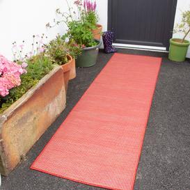 image-Red Mottled Indoor  Outdoor Runner Rug - Patio
