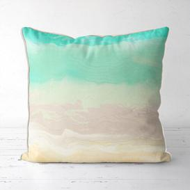 image-Natchez Cotton Cushion Cover Mercury Row Size: 45cm H x 45cm W x 0.5cm D