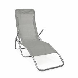 image-Yunus Sun Lounger Sol 72 Outdoor Colour: Grey