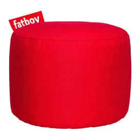 image-Fatboy - The Point Stonewashed Pouf - Red