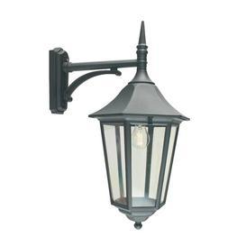 image-Twickenham 1 Light Outdoor Wall Lantern Sol 72 Outdoor Finish: Black
