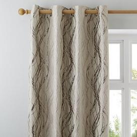 image-Victoria Cream Eyelet Curtains Cream