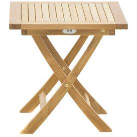 image-Bridgeview Folding Teak Side Table Sol 72 Outdoor