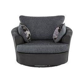 image-Monico Fabric Swivel Chair