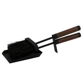 image-Handle Tidy 2 Piece Fireplace Tool Set