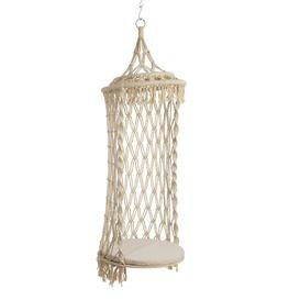 image-Cedartown Macrame Hanging Chair Beachcrest Home
