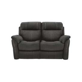 image-Relax Station Revive 2 Seater Fabric Recliner Sofa